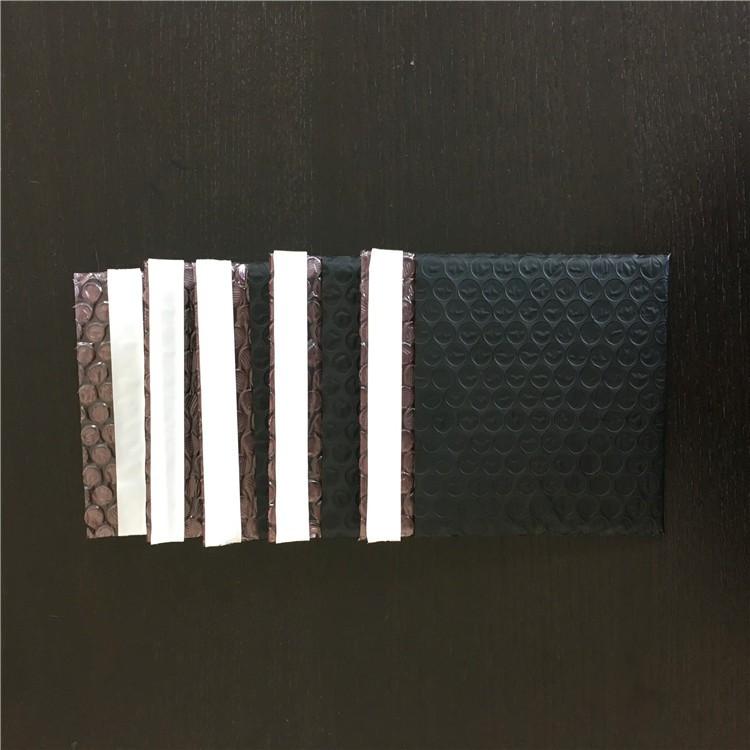 电子元件防震防静电气泡袋 黑色导电膜气泡信封袋