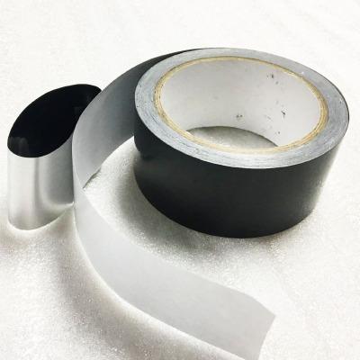 涂布厂直供黑色遮光铝箔麦拉胶带,屏蔽遮光胶带