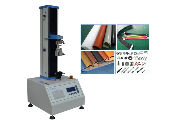 单柱万能材料试验机 小型微电脑拉力试验机