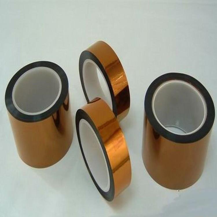 双面防静电0.05MM厚度茶色聚酰亚胺薄膜胶带
