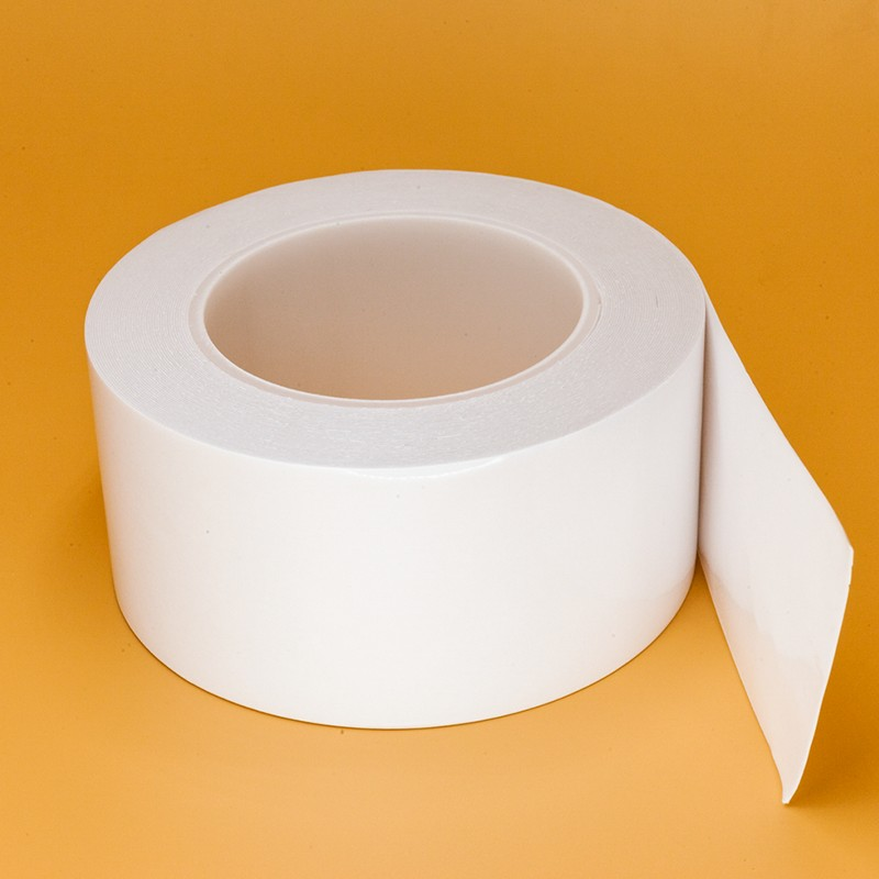 VD572富印0.4mm白色压克力胶带