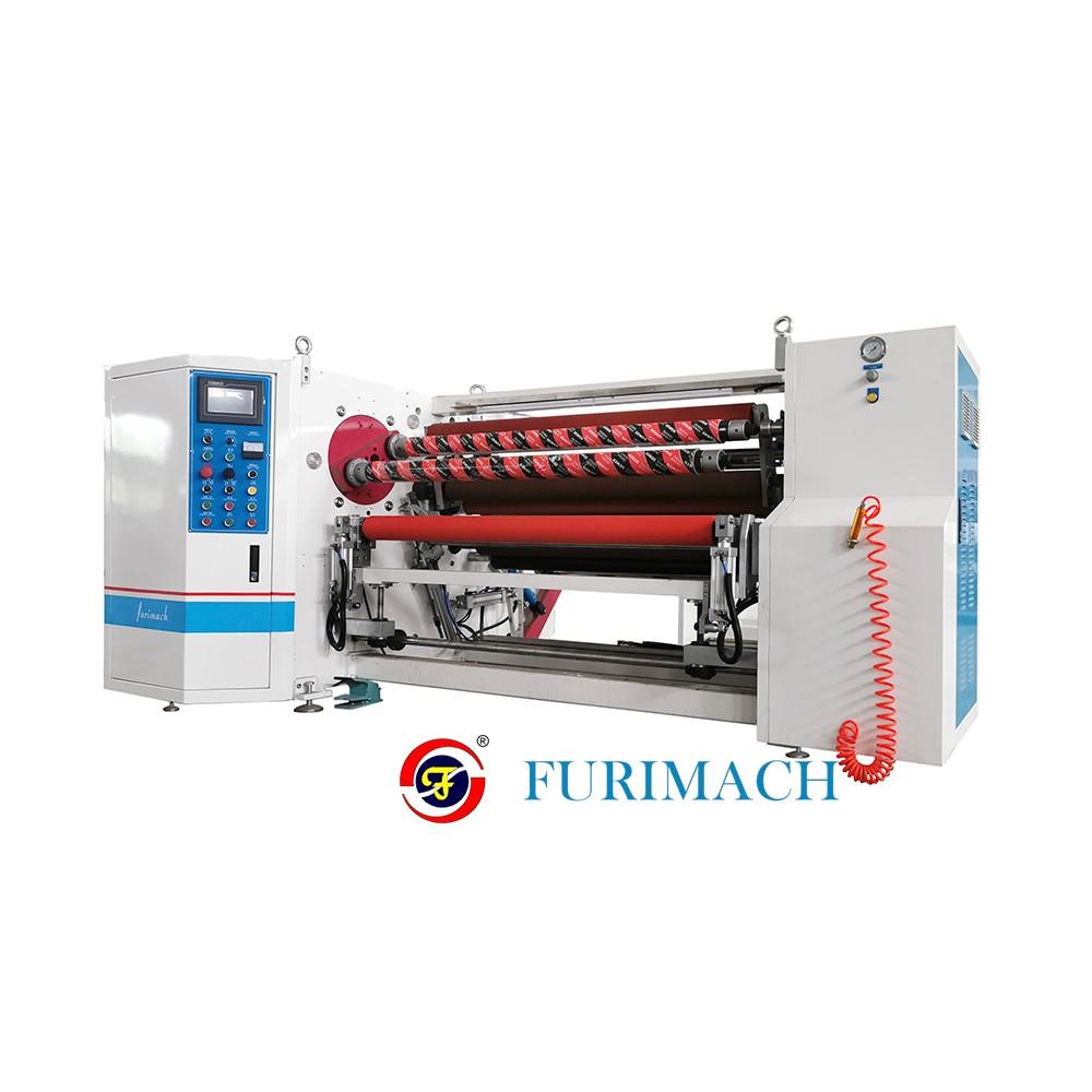 富日 双轴复卷机 PET复卷机 薄膜复卷机 PVC复卷机 自动复卷机 厂家供应