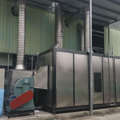RTO蓄热燃烧设备,涂布废气治理设备,有机硅废气治理设备