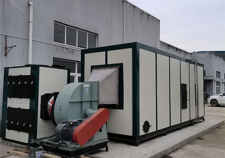 马鞍山涂布废气 含有机硅的废气治理 连续式蓄热燃烧RTO设备厂家