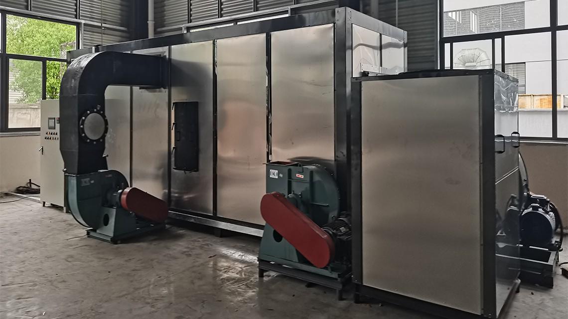 安徽广德涂布废气治理设备,用连续式蓄热燃烧RTO治理方式