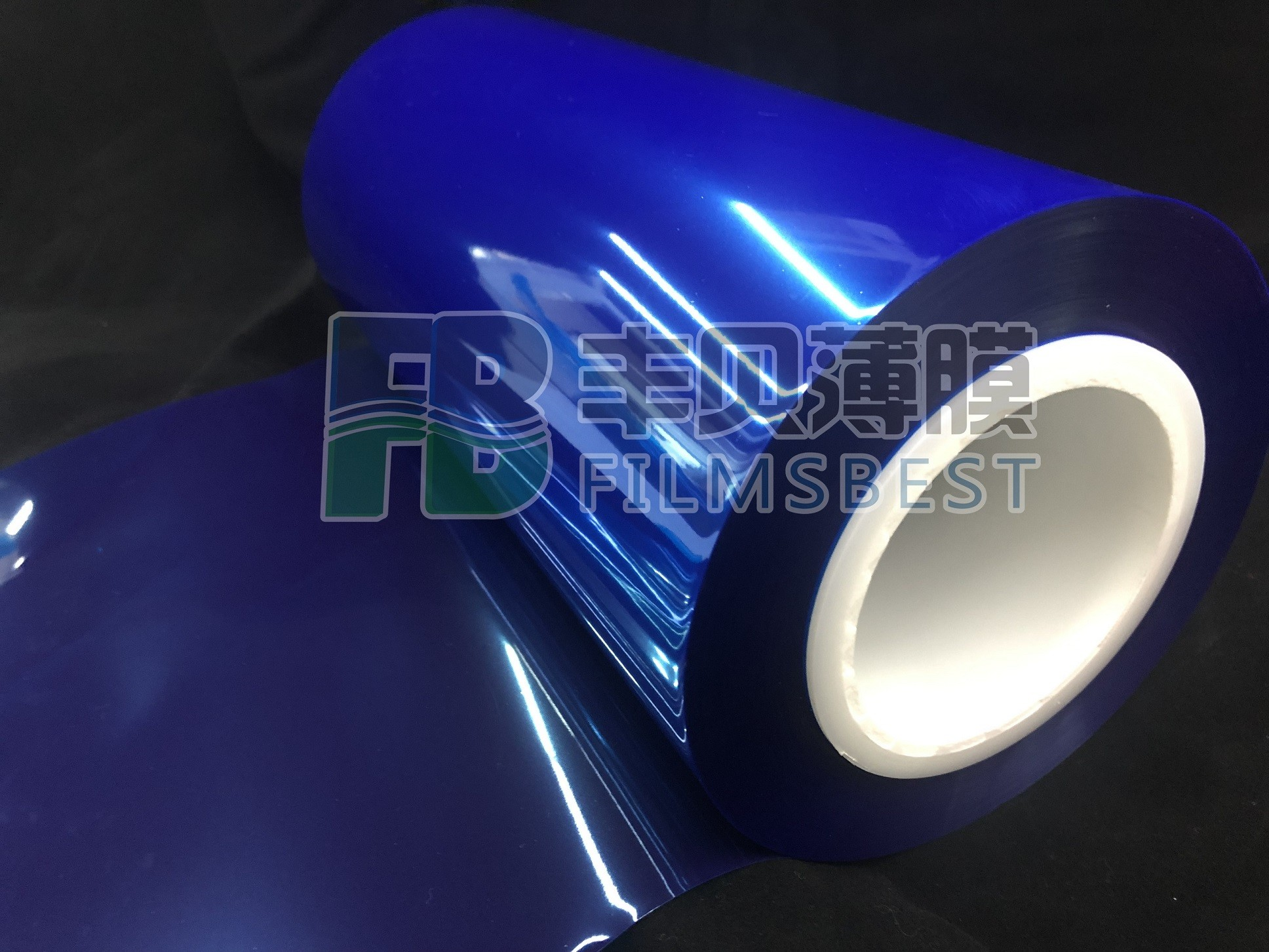 BOPP蓝色保护膜