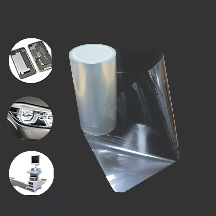 佛山保护膜定制厂家丨免费拿样丨pet网纹硅胶保护膜