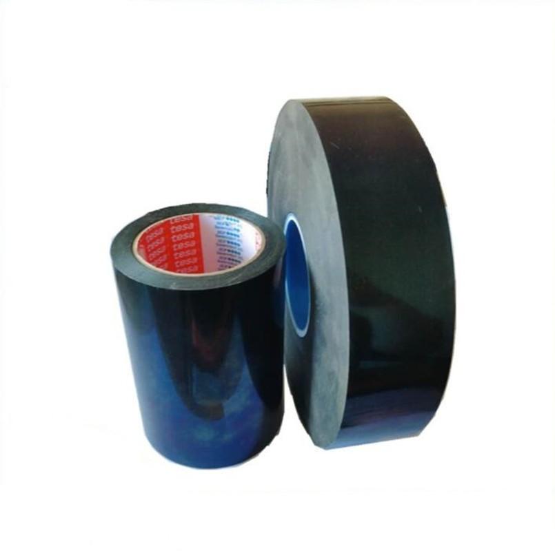 德莎tesa67350亚光黑色单面胶带超薄聚酰亚胺薄膜基材德莎67350