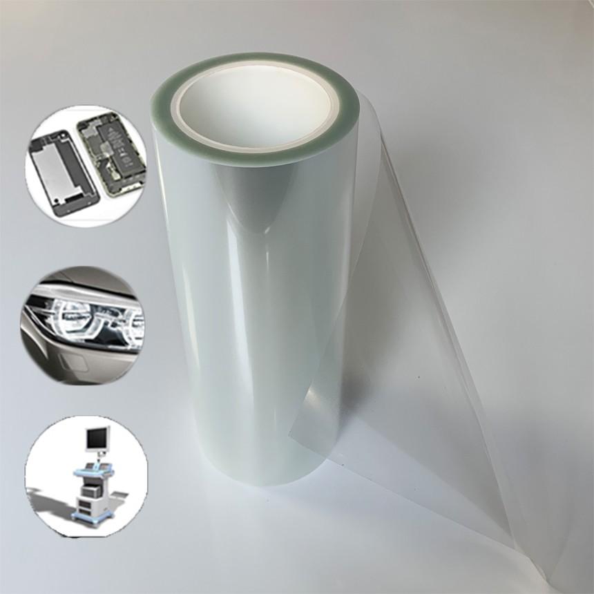 原膜定制丨千级无尘生产薄膜丨pet网纹硅胶表面保护膜