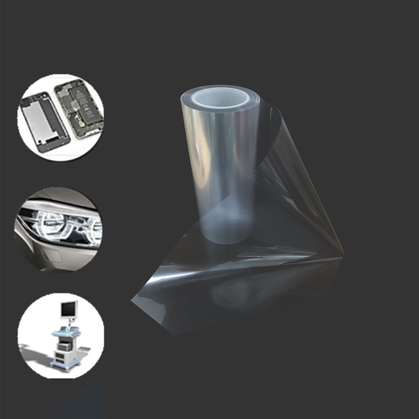 薄膜定制丨批发订购丨pet抗静电网纹表面保护膜